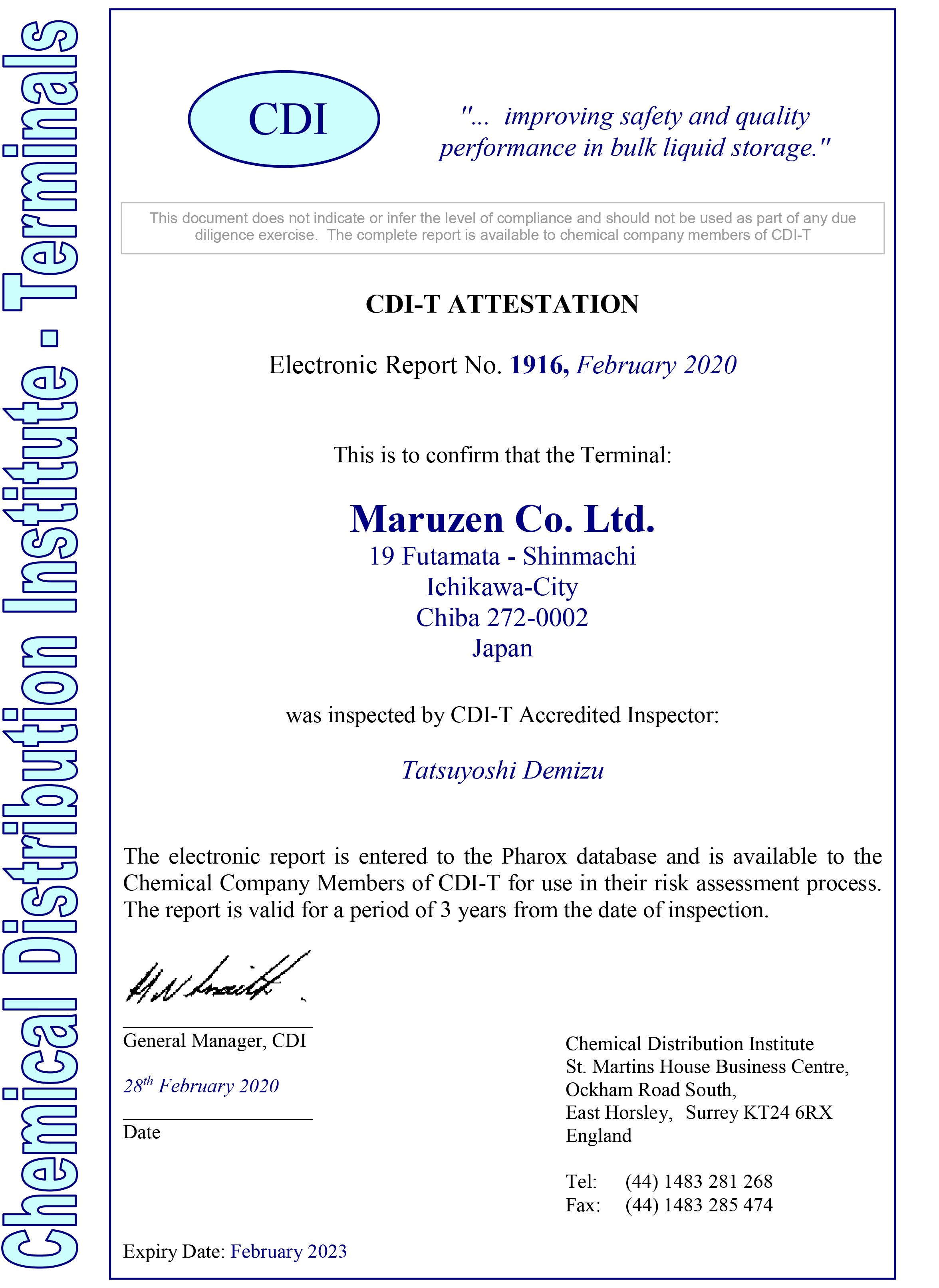 CDI-T 2020